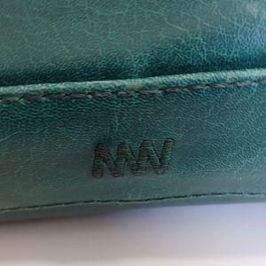 Matt & Nat Bags - Matt & Nat vegan teal hobo handbag